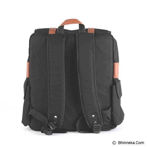 PULCHER Destino [D-01] - Black - Backpack Wanita